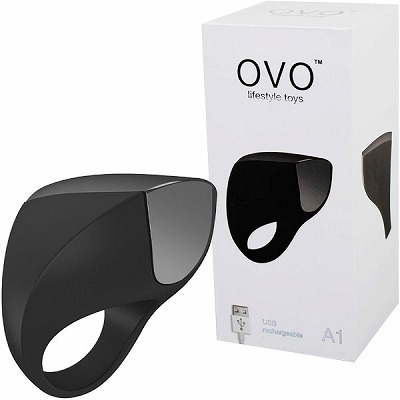 OVO A1 RECHARGEABLE RING (BLACK CHROME)